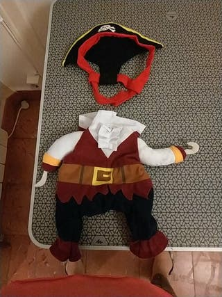 disfraz gato pirata