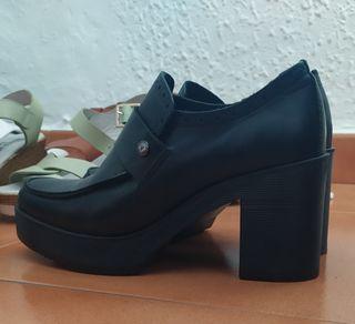 botines zapato