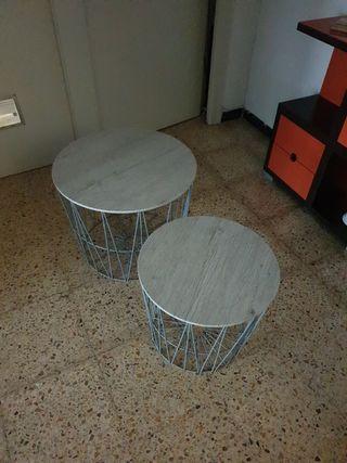 2 mesas de centro