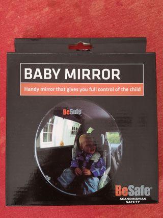 Espejo coche baby mirror Be Safe
