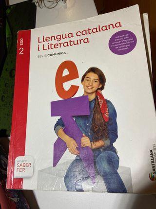 Libros 2ESO Santillana en catalán