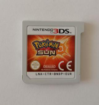 Pokémon sol (videojuego para nintendo 3DS)