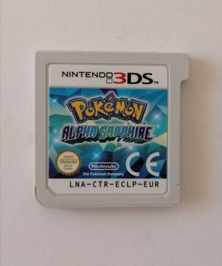 Pokemón zafiro alfa (videojuego para nintendo 3DS)