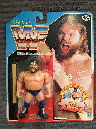 WWF 1991 Hacksaw Jim duggan MOC