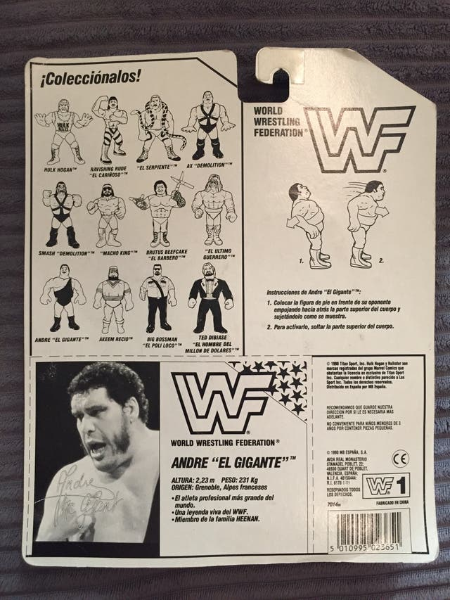 WWF Andre the giant MOC