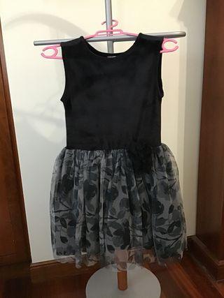 Vestido de fiesta niña, talla 5-6