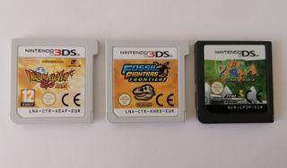 2 juegos para nintendo 3DS + 1 juego para DS