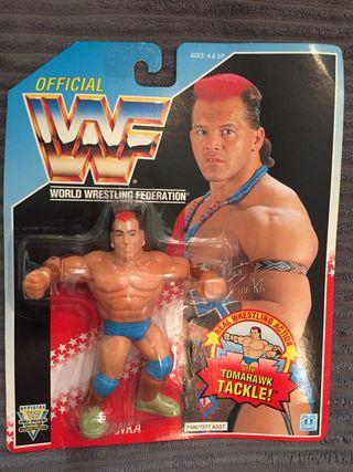 WWF 1993 Tatanka MOC