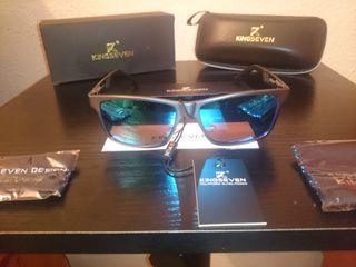 Gafas de sol KINGSEVEN (UV400 + Polarizado)