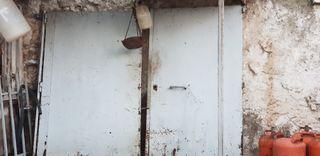 Puerta de hierro cochera