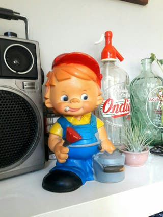antiguo muñeco juguete vintage años 70