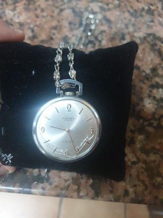 reloj cauny prima bolsillo vintage
