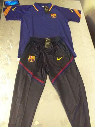 polo y chandal FC Barcelona