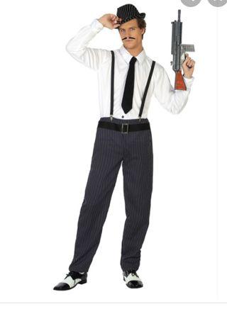 Disfraz de Gangster de hombre... nuevo !!!!