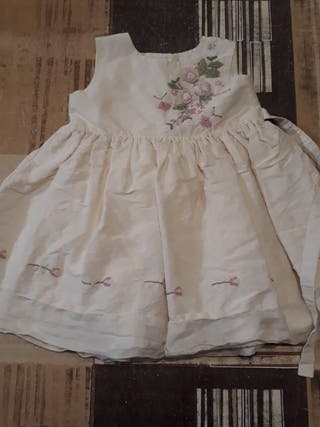 Vestido ceremonia niña 3-6 meses