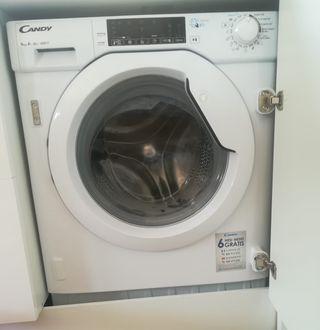 Lavadora totalmente nueva, blanca panelable