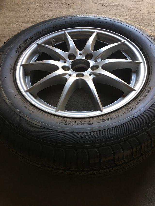"""Llantas con neumático originales Mercedes 17"""""""