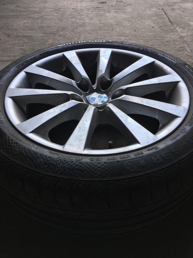 """Llantas con neumático originales BMW 18"""""""