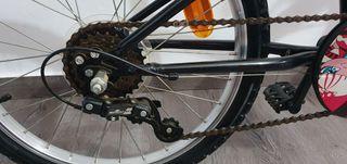 bicicleta niña 20pulgadas.