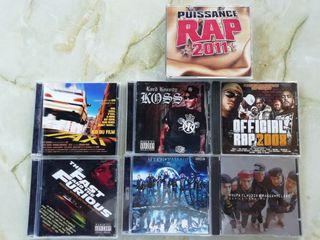 cds BSO, rap music y hip-hops