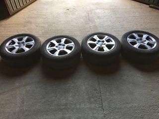"""Llantas con neumático originales Audi 16"""""""