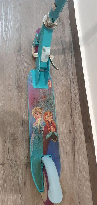 patinete frozen para niña hasta 8 años