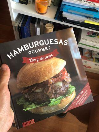 Libro de recetas de hamburguesas