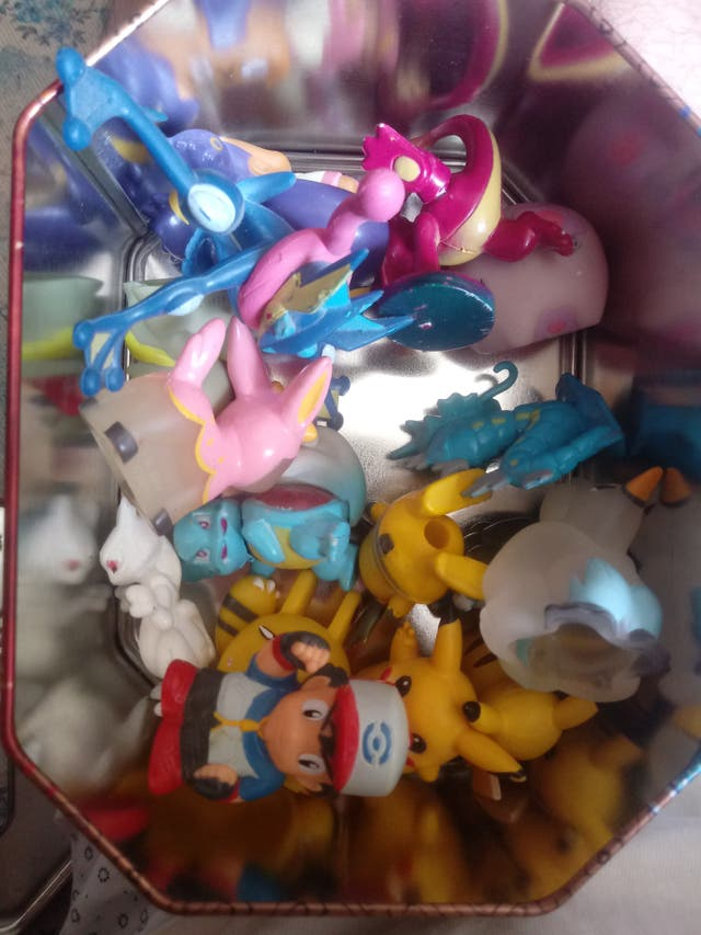 Pack de figuras pokemon