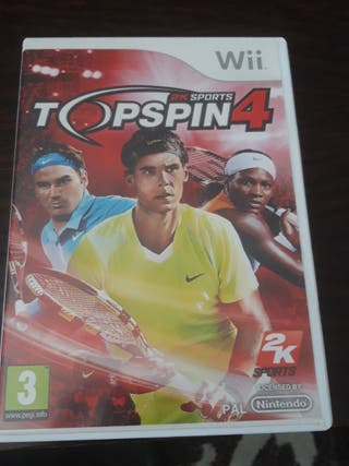 Topspin 4 Wii