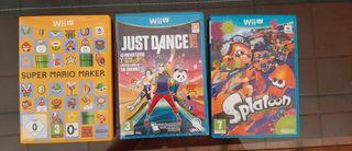 Venta de juegos para Wii U