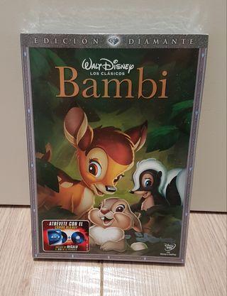 DVD Bambi Edición Diamante