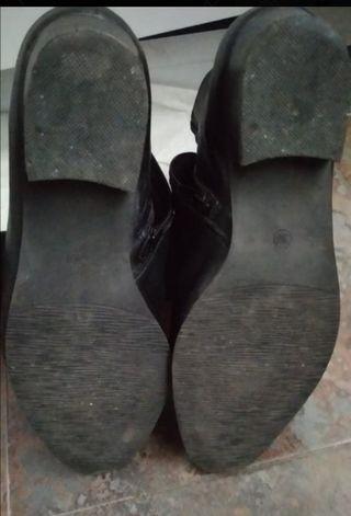 botín plano piel de Pier One