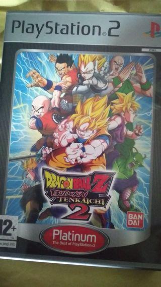 Juego PS2 Dragon Ball Z Budokai Tenkaichi 2