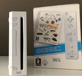 Videoconsola Wii Blanca