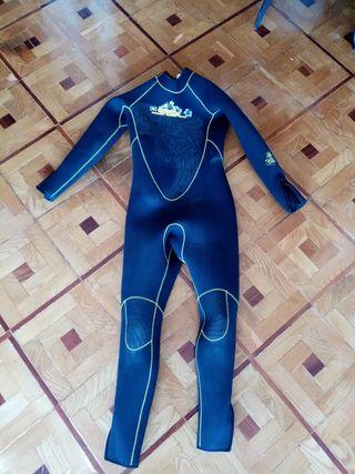 Traje Neopreno Mujer para surf, nadar, bucear