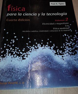 Libro Física Cíencia y Tecnología (Paul A.Tipler)
