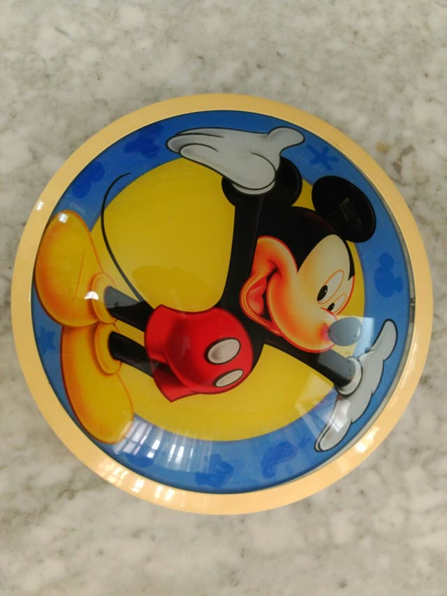 Aplique de luz Mickey Mouse
