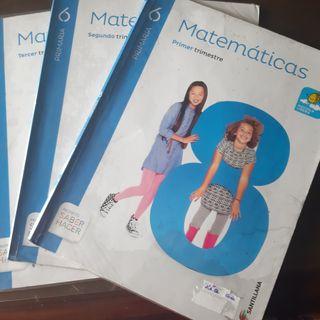 libro matemáticas 6º primaria