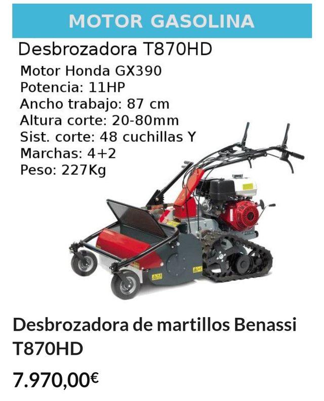 DESBROZADORA DE MARTILLOS