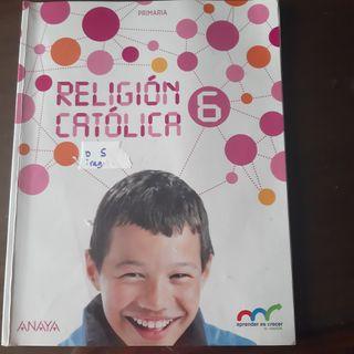 libro de religión 6º primaria