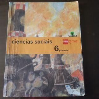 libro de Ciencias Sociales 6º primaria