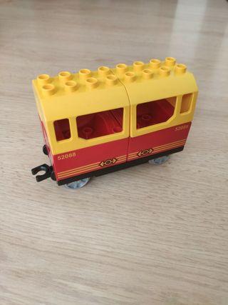un vagón Lego