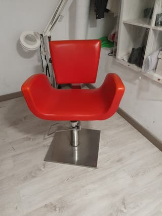 sillón peluquería 80's