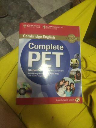 Libro de Estudiante de B1 oficial de Cambridge