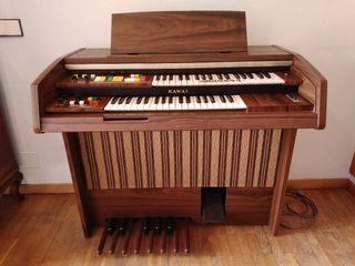 Órgano Piano Eléctrico Kawai. Años 80.