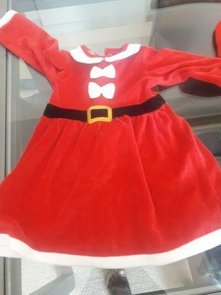 Vestido niña navidad