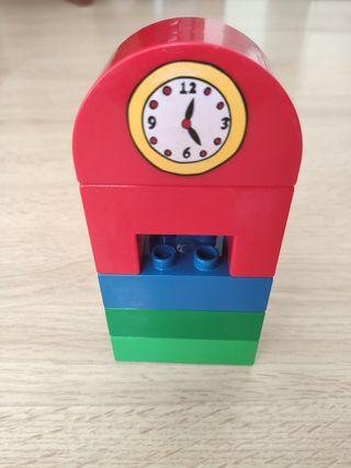 torre reloj Lego
