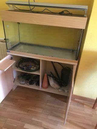 Acuario eheim + mueble 180 litros