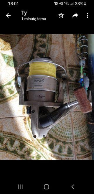 Cañás para pescar