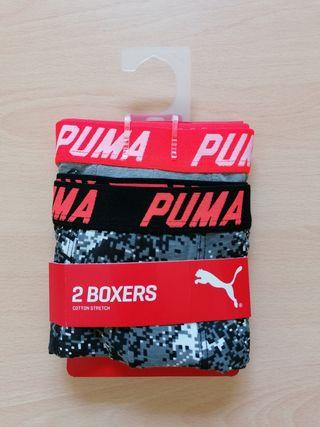 Pack 2 Boxers Puma niño talla L